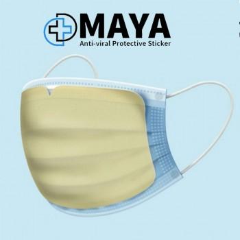 MayaPatch ™ | Famous Anti-Covid-19 Sticker MASK | Technion Revolutionary Disposable Virucid | Nano Fiber Technology